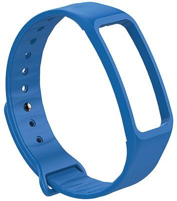 Atlanta > Smartwatchband Ersatzband blau Band Silikon > Fitnessband