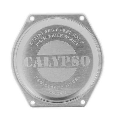 Calypso > Gehäusebodendeckel silberfarben Edelstahl >  K5634