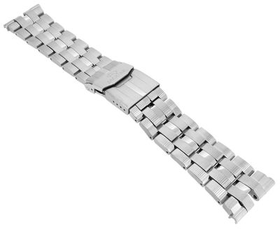 Jaguar Chronograph Uhrenarmband   Edelstahlband silberfarben J654 J852 – Bild 1