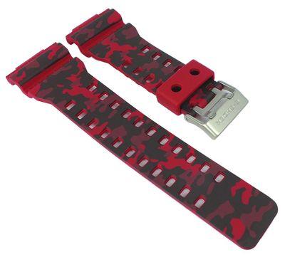 Casio Ersatzband   Uhrenarmband Resin rot G-Shock GA-100CM   GD-120CM – Bild 1