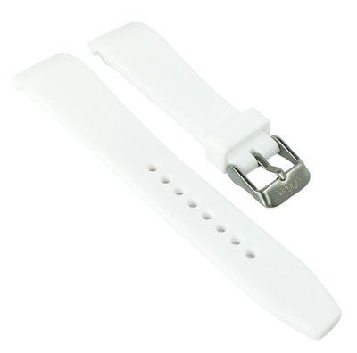 s. Oliver Kinderuhr | Uhrenarmband Silikon weich glatt weiß SO-3635-PQ – Bild 1