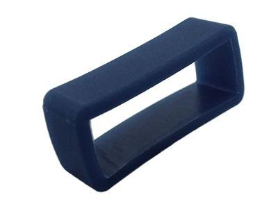 s.Oliver Bandschlaufe 14mm blau | Schlaufe Silikon weich | SO-3638-PQ – Bild 1