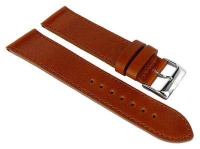 Eulit Barington Uhrenarmband braun Leder > Bauhaus Design > Rindleder – Bild 1