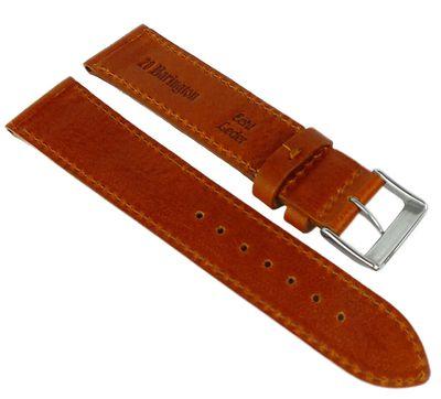 Eulit Barington Uhrenarmband braun Leder > Bauhaus Design > Rindleder – Bild 2