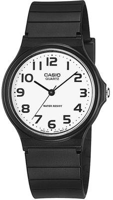 Casio Collection Klassiker Uhr Analog Resin schwarz MQ-24-7B2LEF