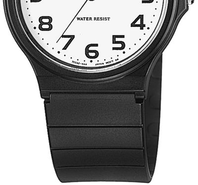 Casio Collection Klassiker Uhr Analog Resin schwarz MQ-24-7B2LEF – Bild 2