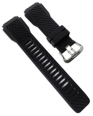 Casio Pro-Trek Ersatzband | Uhrenarmband Resin schwarz WSD-F30-BK – Bild 1
