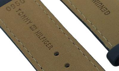 Tommy Hilfiger Uhrenarmband 22mm blau Leder ⇒ 1790636 1790635 1790634 – Bild 4