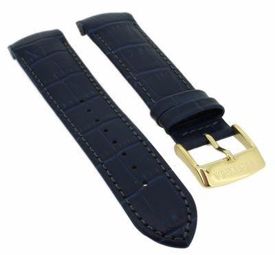 Festina > Uhrenarmband blaues Lederband Krokoprägung > F20419 F20419/2 – Bild 1