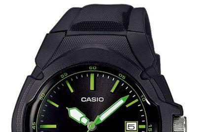 Casio Collection   Analog Damen-Armbanduhr Neo-Display LX-610-1AVEF – Bild 2
