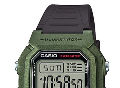 Casio Collection Digital  Herrenuhr Resin mit LED Light W-800HM-3AVEF – Bild 2