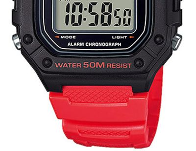 Casio Collection Digital Herrenuhr Resin mit LED Light W-218H-4BVEF – Bild 3