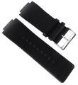 Esprit Uhrenarmband | glattes Leder schwarz ES100321 ES100851 001