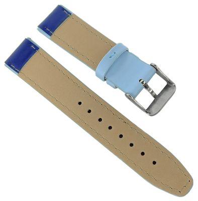 Adora Youngline Kinder Uhrenarmband 18mm blau Leder AY4313 AY4372 – Bild 2