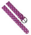 Adora Youngline Kinder Uhrenarmband 12mm weiß / pink Kunststoff AY4337 001