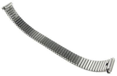 Minott Uhrenarmband > Zugband silbern > Teleskopanstoß 11mm - 14mm – Bild 3