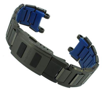 Casio G-Shock Exclusive Uhrenarmband Edelstahl schwarz MTG-B100BD – Bild 1