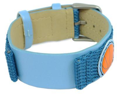 s.Oliver Unterlagenband Band 16mm blaues Band Materialmix SO-1821-LQ – Bild 1