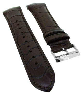 Hugo Boss Trophy > Uhrenarmband 22mm braun Lederband > 1513629  – Bild 1