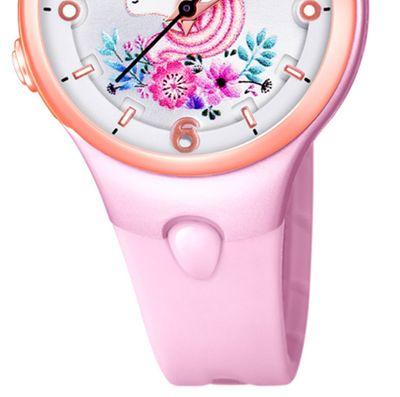 Calypso Kinderuhr | rosa analog Kunststoff | Motiv Einhorn | K5783/2 – Bild 4