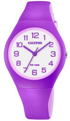 Calypso Kinderuhr > Quarzuhr lila / violett Kunststoffband > K5777/7 – Bild 1