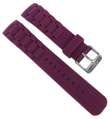 s.Oliver > Uhrenarmband Silikon aubergine weich Band > SO-2302-PQ – Bild 1