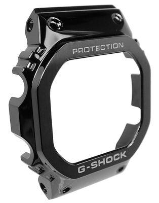 Casio G-Shock Gehäuseteil schwarz Edelstahl Bezel GMW-B5000G GMW-B5000