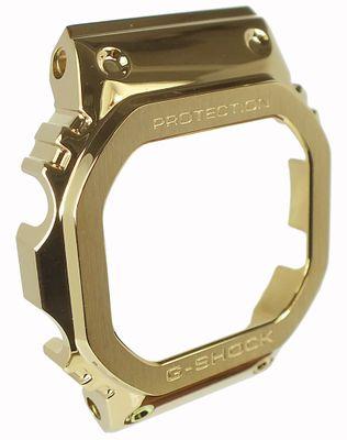 Casio G-Shock Bezel Edelstahl gelbgoldfarben GMW-B5000GD-9ER GMW-B5000