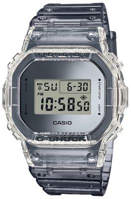 Casio G-Shock Herrenuhr Digitaluhr Resin transparent Stoßfest DW-5600SK-1ER