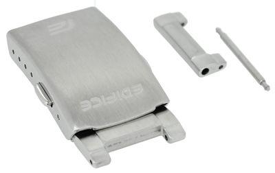 Casio Edifice > Faltschließe 20mm silbern Edelstahl > EFR-534D EFR-534 – Bild 1