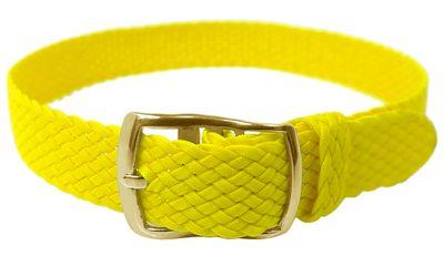 Minott > Durchzugsband 12mm Perlon gelb > geflochten > gleichlaufend – Bild 2