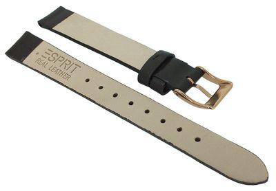 Esprit Damen > Uhrenarmband 13mm Leder glatt braun > ES106172 106172 – Bild 2