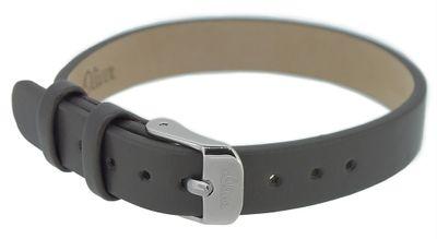 s.Oliver Uhrenarmband > zwei Teile 10mm Leder orange / grau SO-3239-LQ – Bild 3