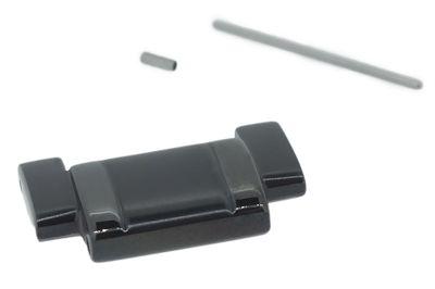 Casio Edifice 1x Bandglied schwarz Edelstahl > EQB-510 EQB-510DC-1AER – Bild 1