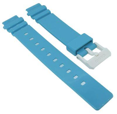 Casio Damen > Uhrenarmband Resin blau LRW-200H-2E3V LRW-200H LRW-200 – Bild 1