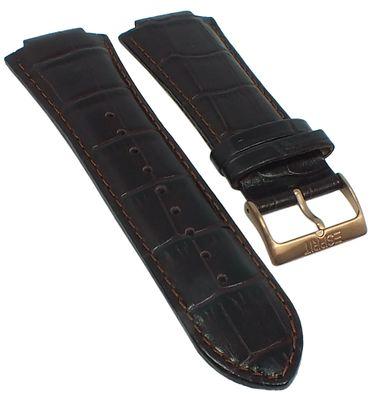 Esprit Clear Octo > Uhrenarmband Leder braun Krokoprägung > ES102881 – Bild 1