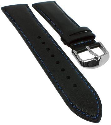 Casio Edifice Uhrenarmband 23mm Leder schwarz ERA-600L-2AVUEF ERA-600 – Bild 1