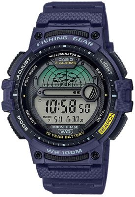 Casio Collection Armbanduhr Digital Stoppfunktion WS-1200H-2AVEF – Bild 1