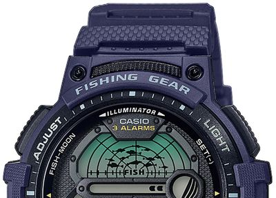 Casio Collection Armbanduhr Digital Stoppfunktion WS-1200H-2AVEF – Bild 4