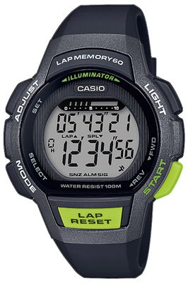 Casio Collection Kinderuhr LED Light Resinband Timer LWS-1000H-1AVEF – Bild 1
