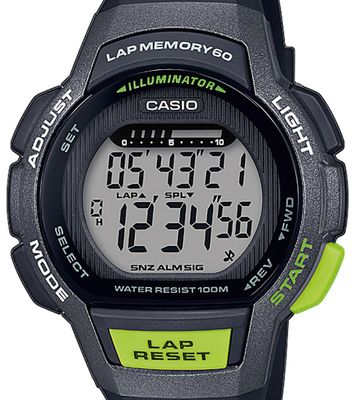Casio Collection Kinderuhr LED Light Resinband Timer LWS-1000H-1AVEF – Bild 2