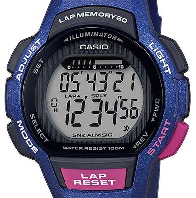 Casio Collection Kinderuhr LED Light Resinband Timer LWS-1000H-2AVEF – Bild 2
