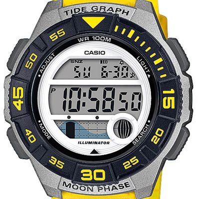 Casio Collection > Kinderuhr Mondphasenanzeige Resin > LWS-1100H-9AVEF – Bild 2