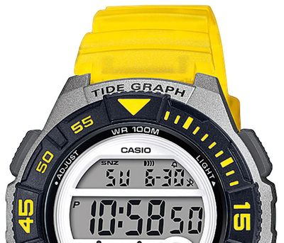 Casio Collection > Kinderuhr Mondphasenanzeige Resin > LWS-1100H-9AVEF – Bild 4