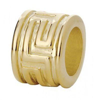 CEM Beads Element gelbgoldfarbig 925/-Silber CD786
