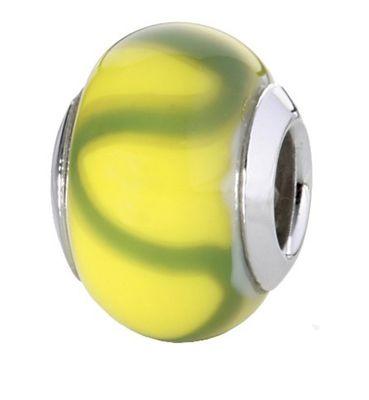 CEM Glasbeads Drops Beads Glaskugel 925/Silber CD749