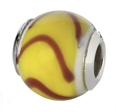 CEM Glasbeads Drops Beads Glaskugel 925/Silber CD760
