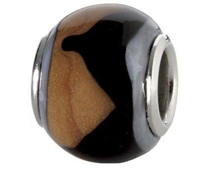 CEM Glasbeads Drops Beads Glaskugel 925/Silber CD770