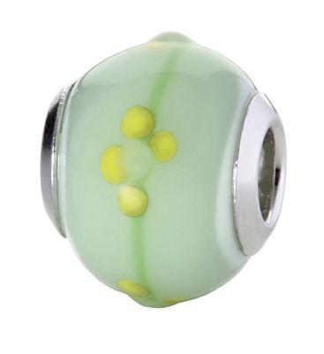 CEM Glasbeads Drops Beads Glaskugel 925/Silber CD775