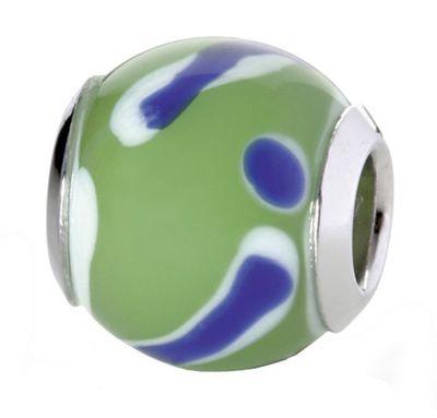 CEM Glasbeads Drops Beads Glaskugel 925/Silber CD776